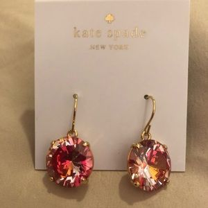 Kate Spade ♠️ Shine on Orange Earrings